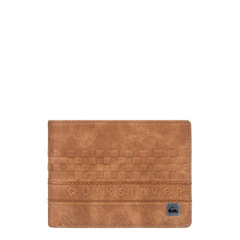 Quiksilver Tan Everyday Stripe Bi-Fold Wallet