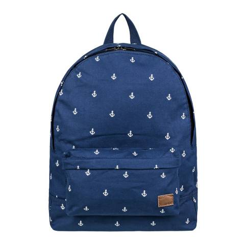 Roxy Blue Sugar Baby Canvas Small Backpack