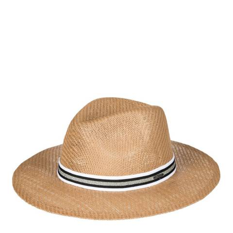 Roxy Natural Here We Go Straw Panama Hat