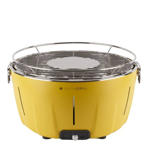 Instagrill Instant Smokeless Table Barbecue with Bag, Yellow