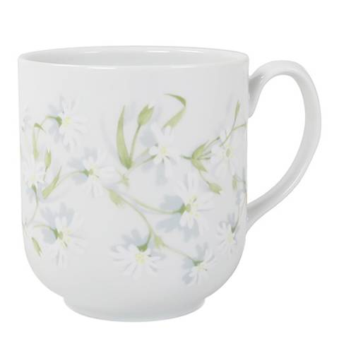 Jersey Pottery Stellaria Set of 4 Mugs, 330ml