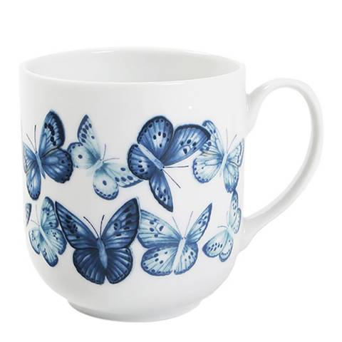 Jersey Pottery Azure Set of 4 Mugs