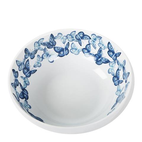 Jersey Pottery Azure Serving Bowl, 23cm
