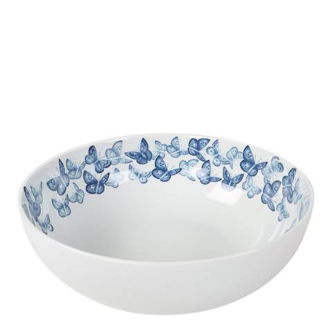 Jersey Pottery Azure Serving Bowl, 28cm