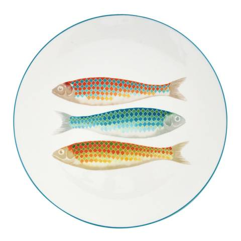 Jersey Pottery Harlequin Charger Plate