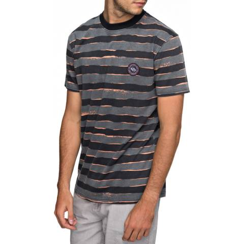 Quiksilver Dark Grey All Print T-Shirt