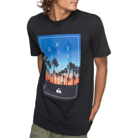 Quiksilver Black Classalinastars T-Shirt
