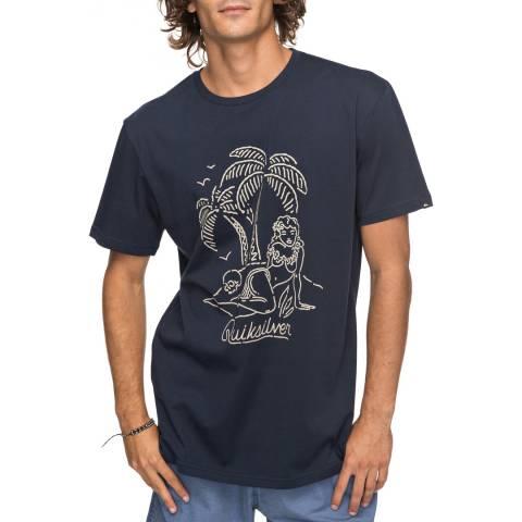 Quiksilver Navy Classjustsayin T-Shirt