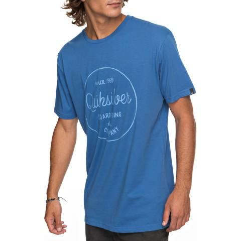 Quiksilver Blue Clmornslides T-Shirt