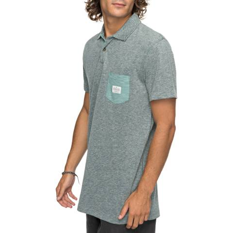 Quiksilver Mid Grey Cruz Polo Shirt