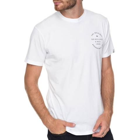 Quiksilver White Domespeak T-Shirt