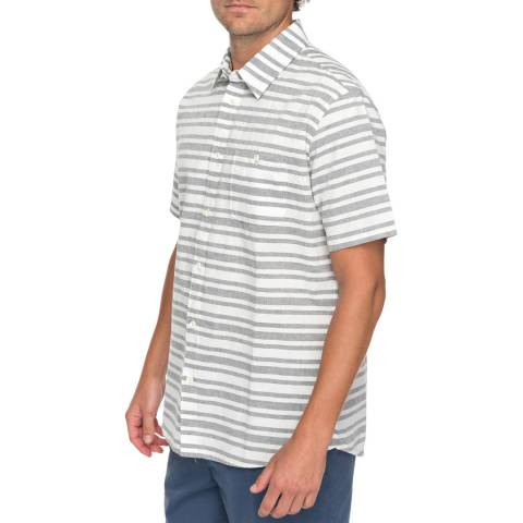 Quiksilver Light Grey Flyingfirst Short Sleeve Shirt
