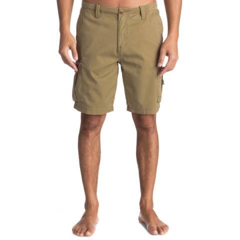 Quiksilver Khaki Crucialbattlesh Shorts