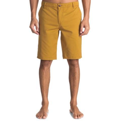 Quiksilver Mustard Evdaychilightsh Shorts