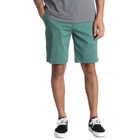 Quiksilver Green Krandychin Shorts