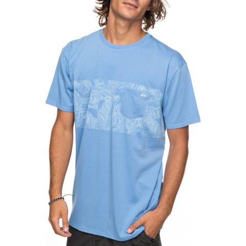 Quiksilver Blue Mantraright T-Shirt