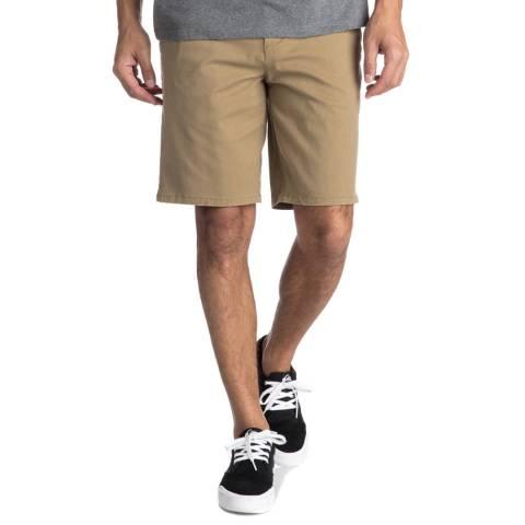 Quiksilver Khaki Krandychin Shorts