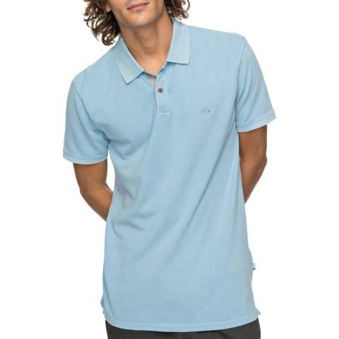 Quiksilver Light Blue New Mizkimitt Polo Shirt