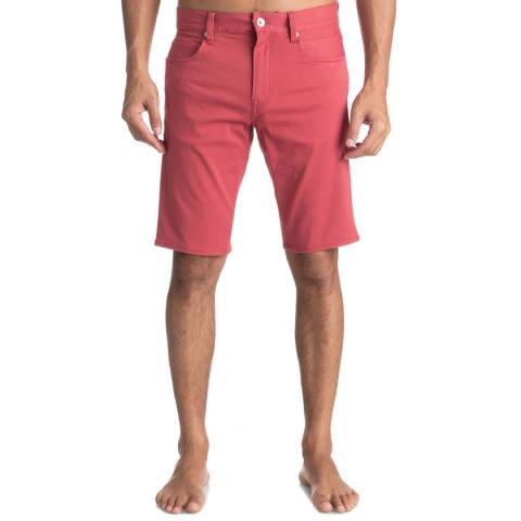 Quiksilver Red Lygon Shorts