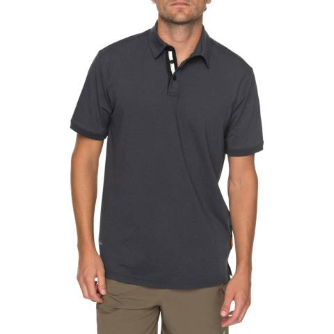 Quiksilver Charcoal Real Deal Polo Shirt