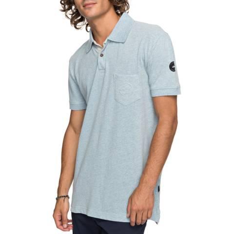 Quiksilver Light Blue Polo Shirt