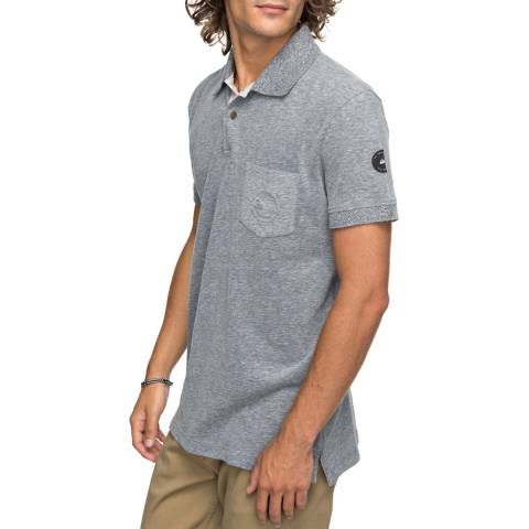Quiksilver Mid Grey Polo Shirt
