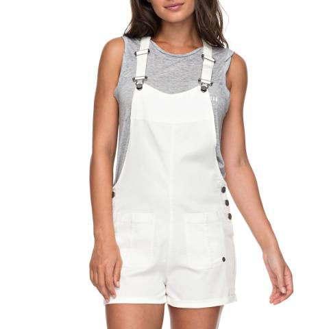 Roxy White Back In Miami Dungarees