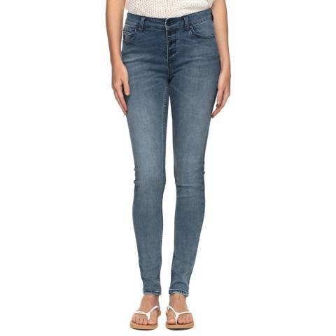 Roxy Blue Sunny Bay Denim Pants