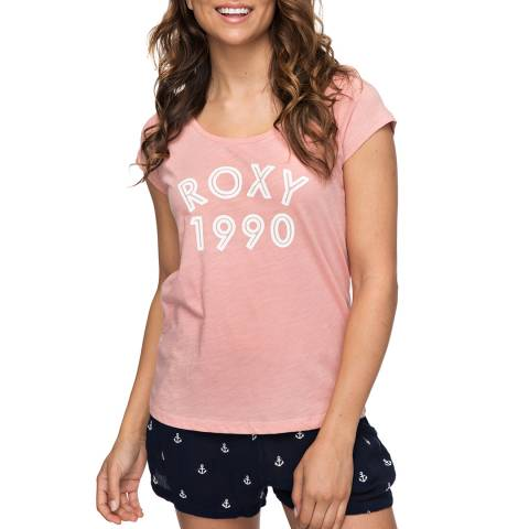 Roxy Pink Bobby B - T-Shirt