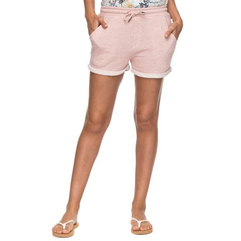 Roxy Pink Trippin Sweat Shorts