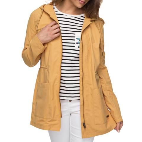 Roxy Yellow Crazy Clouds Jacket