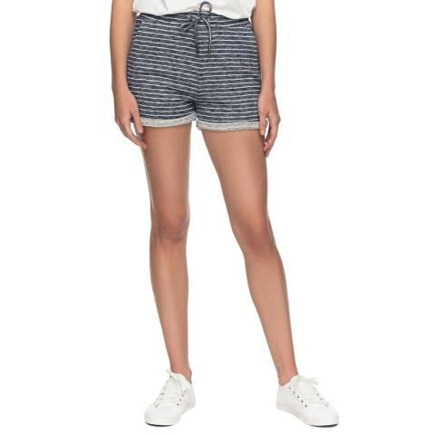 Roxy Multi Trippin Stripe Sweat Shorts
