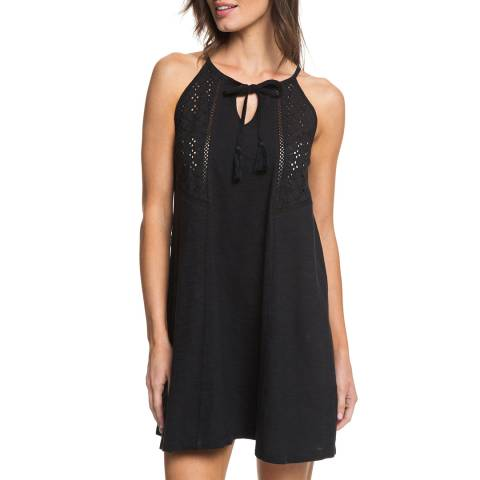 Roxy Black Enchanted Island Strappy Dress