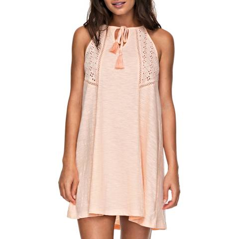 Roxy Peach Enchanted Island Strappy Dress