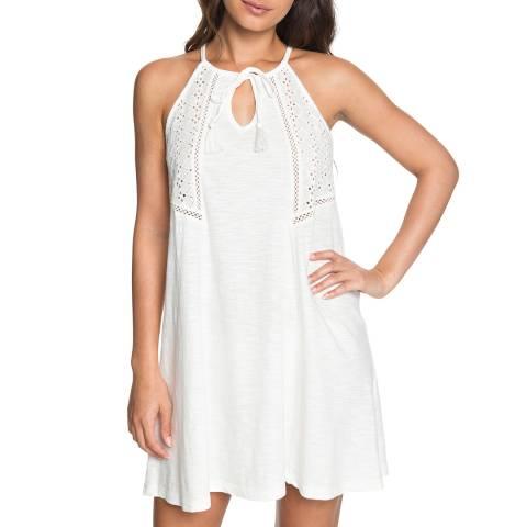 Roxy White Enchanted Island Strappy Dress