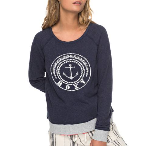 Roxy Navy Full Of Joy B Sweatshirt