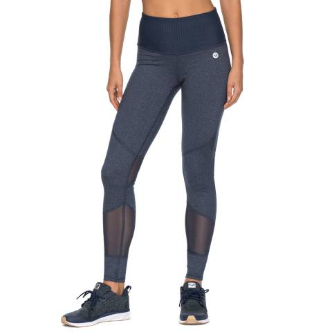 Roxy Navy Lost Seaside Technical Leggings