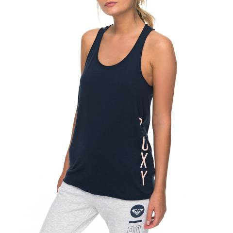 Roxy Navy Play And Win Vest Top
