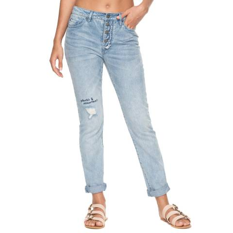 Roxy Blue Rocksound Denim Pant