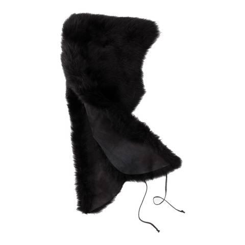 UGG Women's Black Sheepskin Shrug