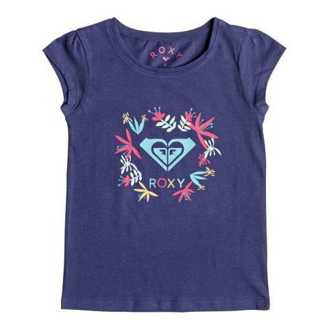 Roxy Moid Flower Logo T Shirt