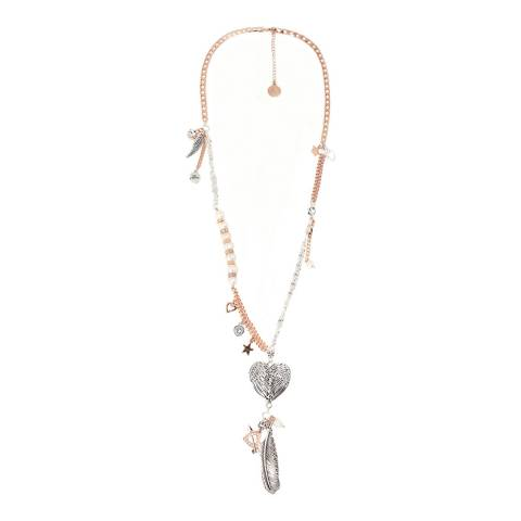 BiBi Bijoux Rose Gold Charm Necklace