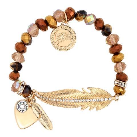BiBi Bijoux Bronze Swarovski Crystals  Bracelet