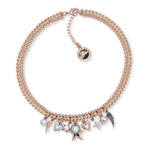 BiBi Bijoux Gold/Silver Charm Necklace