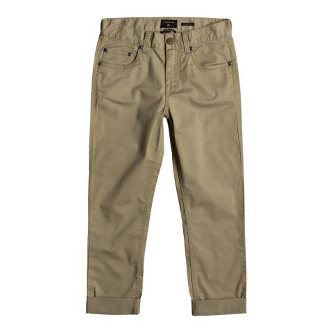 Quiksilver Midnight Ankle Straight Fit Trouser