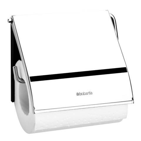 Brabantia Toilet Roll Holder Classsic, Brilliant Steel
