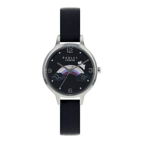 Radley Ladies' Black Rainbow Watch