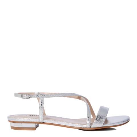 Dune Silver Reptile Nenna Sandals