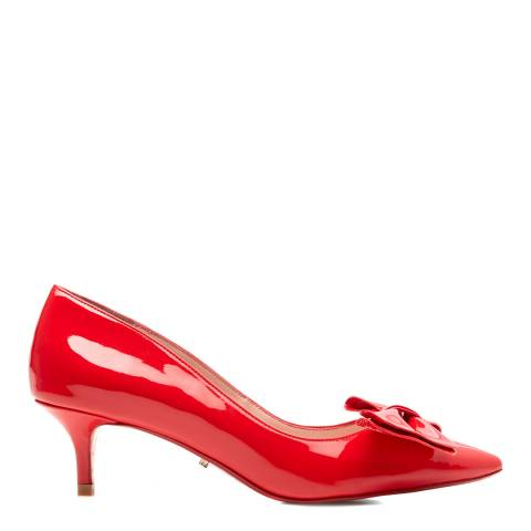 Dune Red Patent Berell Bow Heels