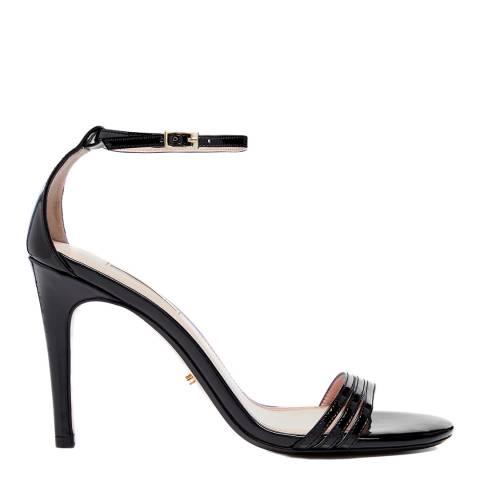 Dune Black Patent Marabela Heels